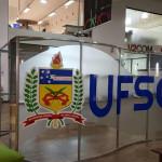 Estande da UFSC no Salão de Design da Univali